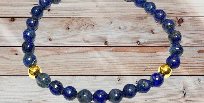 Bracelet Pierre Naturelle Lapis Lazuli