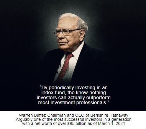 A Passive Approach to Investing is All You Need