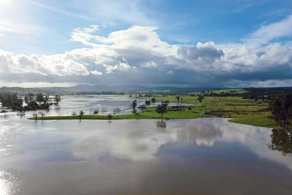 Tanjil River, looking upstream from Moe-Walhalla Road