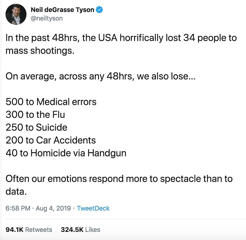 Neil deGrasse Tyson unnecessary tweet