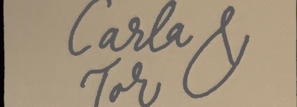 Carla & Tor