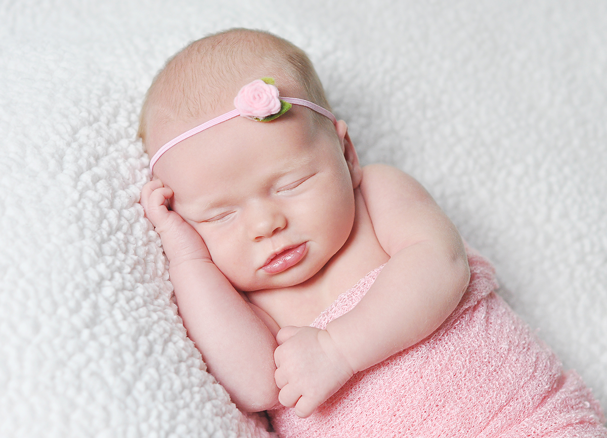 Newborn Girl photo in Morehead City