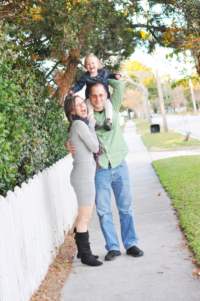 Family photos in Beaufort, NC