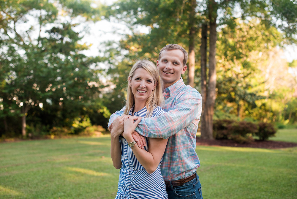 engagement photo session in Newport, NC