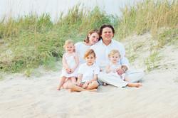Family Photo on the Crystal Coast