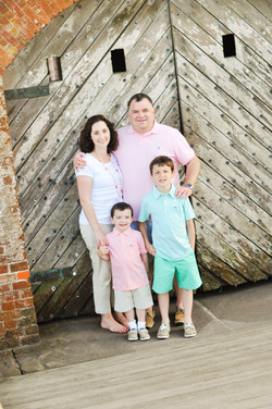 Family photos Fort Macon State Park