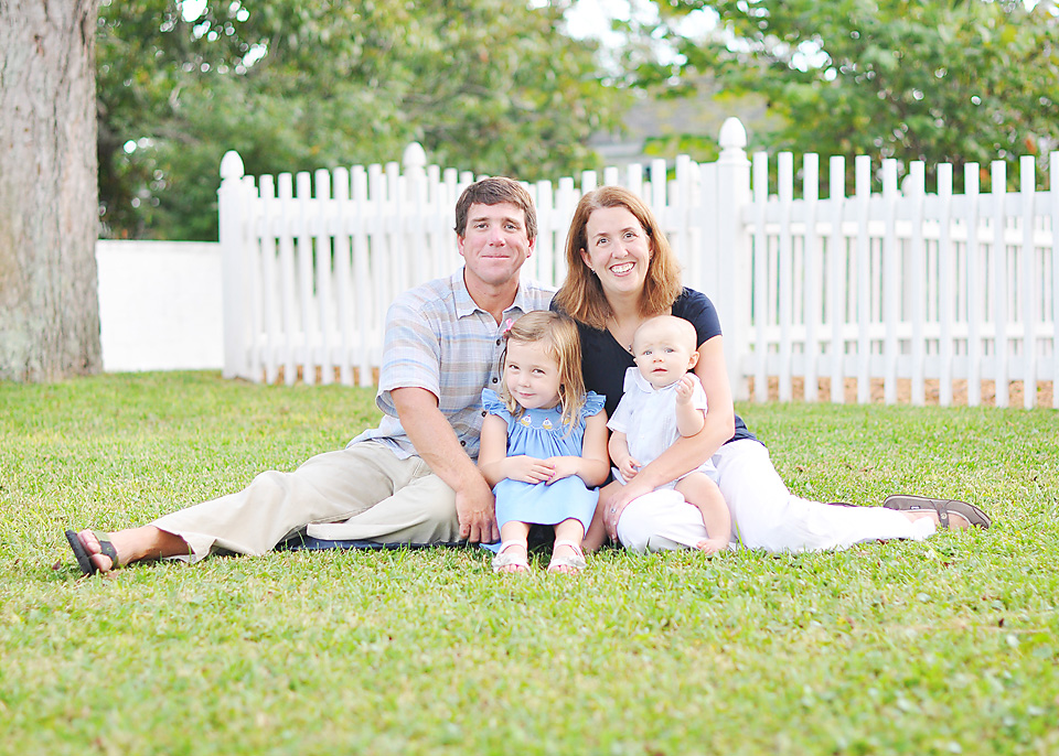 Family Portrait in Morehead City
