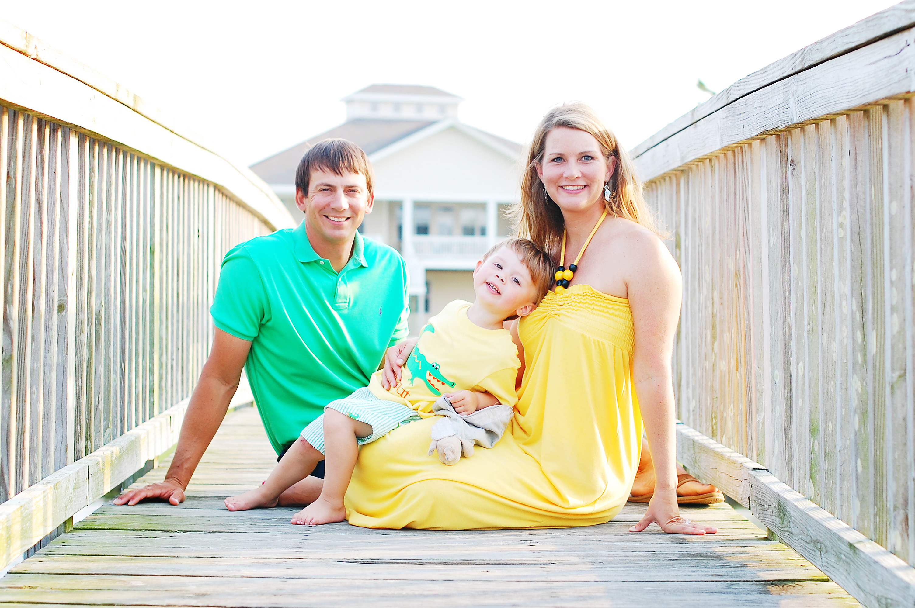 family photo in Morehead City