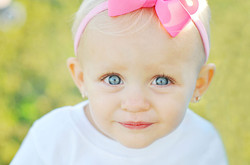 infant portrait in Morehead City, nc