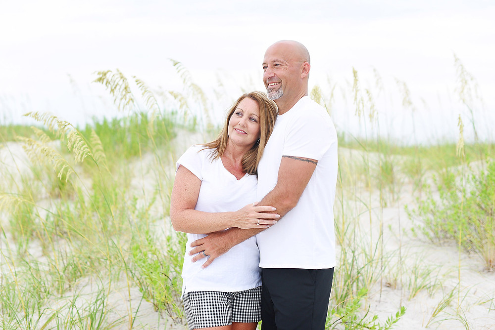photo of couple in Atlantic Beach