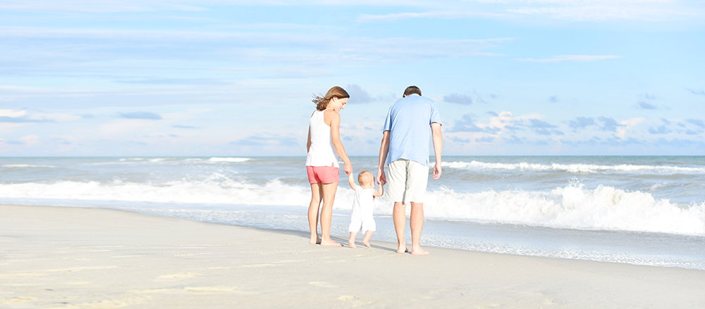 family beach photos in atlantic beach, NC