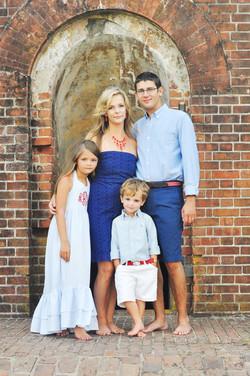 Family photos at fort macon