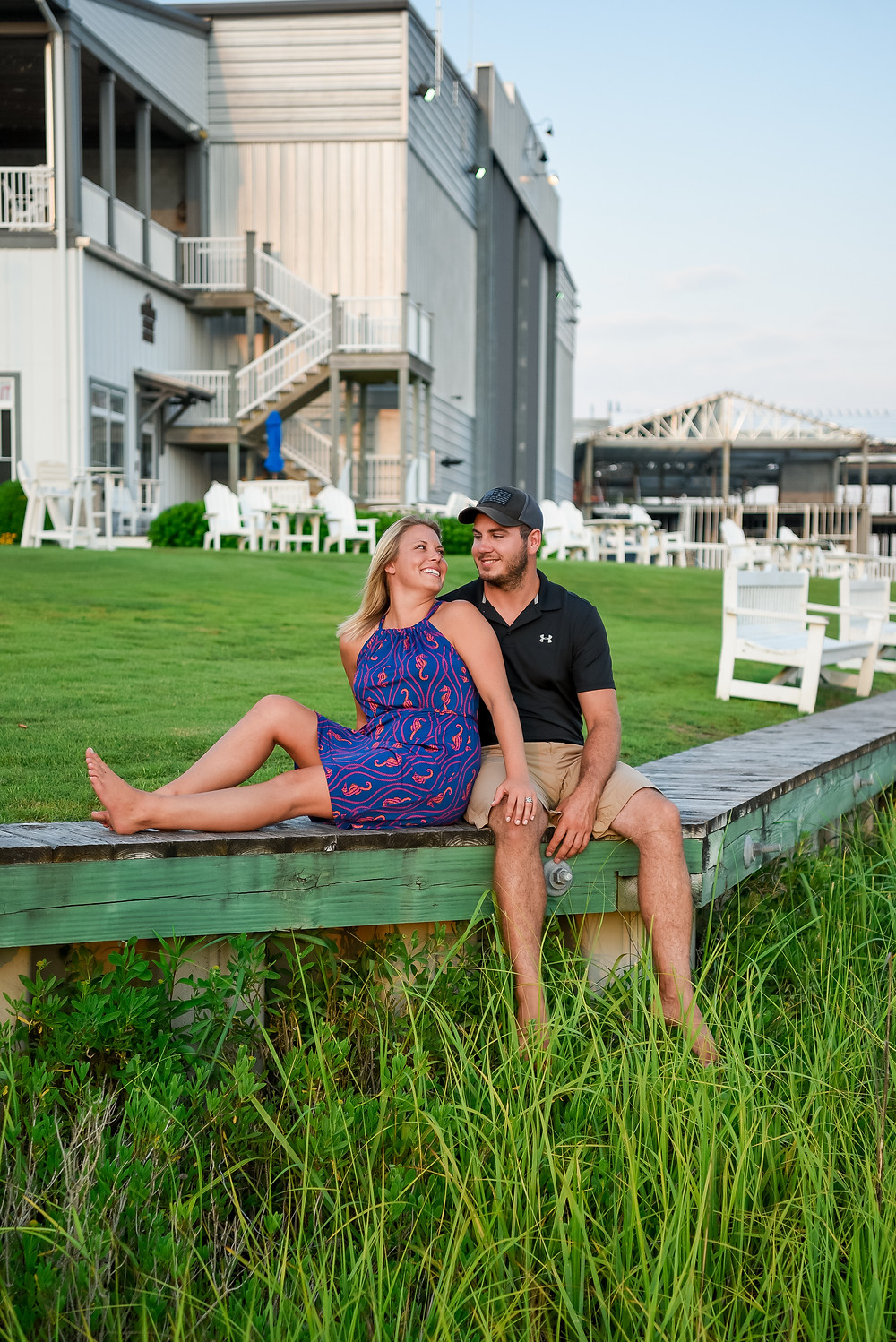 Couples photo session in Beaufort