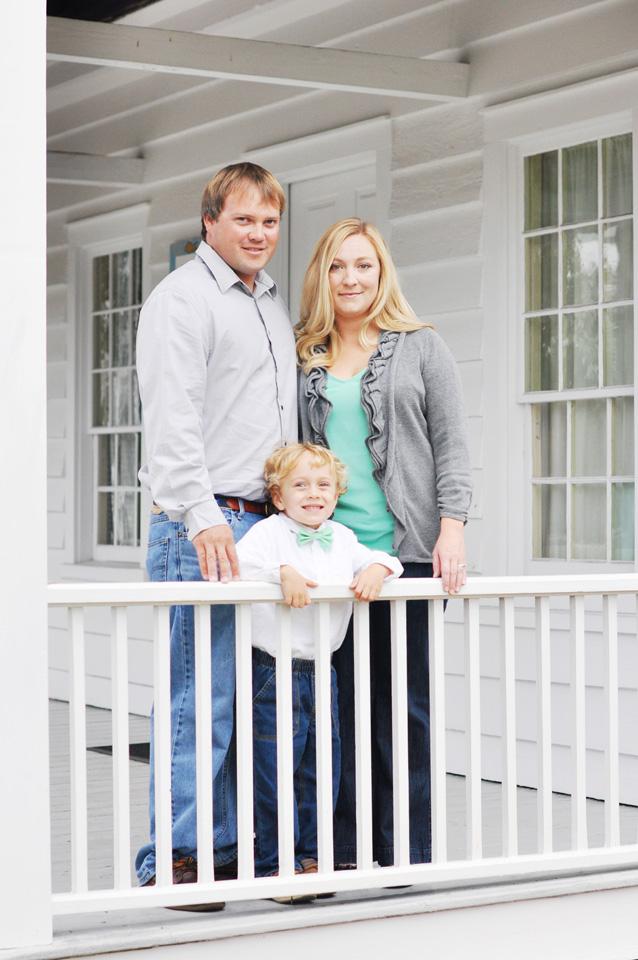 Beaufort NC Family Photo