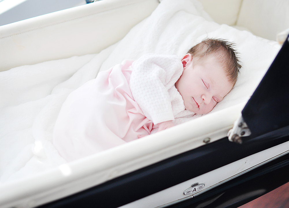 Precious newborn portrait