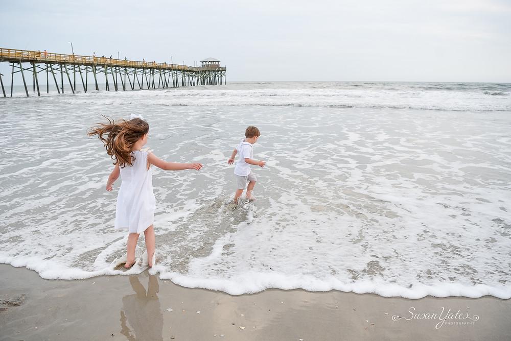 vacation photos at oceana pier