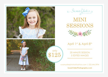 Mini Sessions are here!