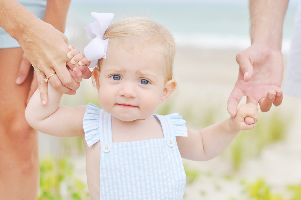 Baby Portrait in Pine Knoll Shores