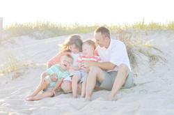 happy family photo in Atlantic Beach