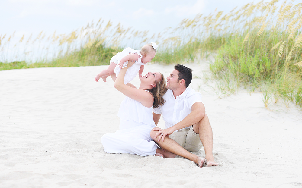 family photos in atlantic beach, nc