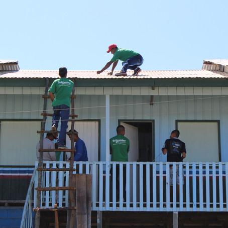 Escolas isoladas na Amazônia ganham sistema de energia solar
