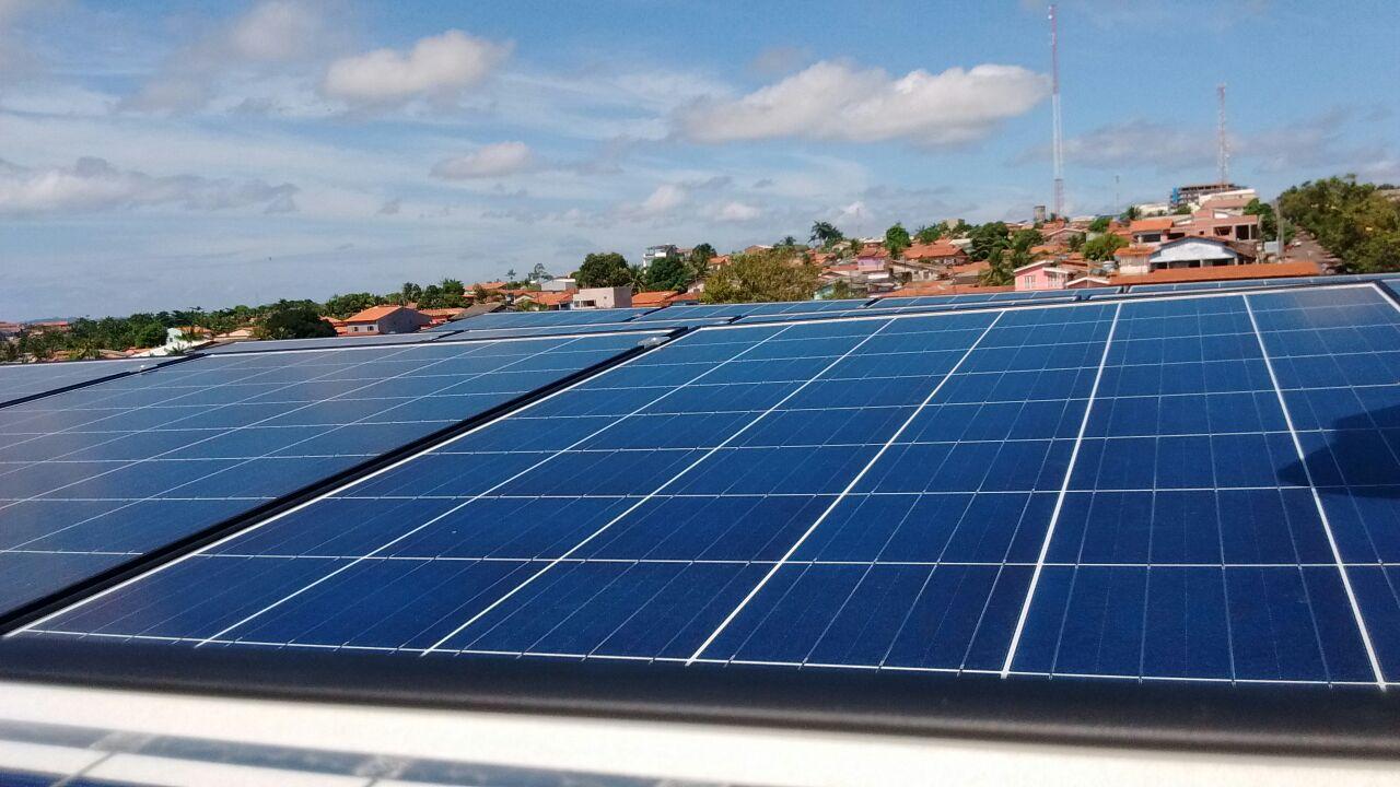 Arranjo Fotovoltaico Solar Tech Eng