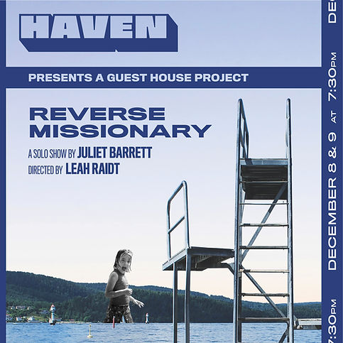 Reverse Missionay Poster