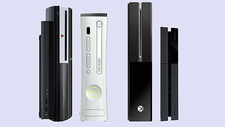PS3, PS4 and Xbocx One