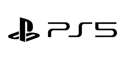 ps5 logo white