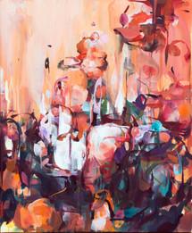 잠든 잠, oil on canvas,  60.6x50cm, 2019
