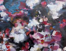 Romantic Strokes, oil on linen, 30x40cm, 2018