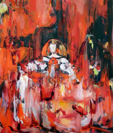 Dreamy Dreams, oil on linen, 53x45cm, 2018