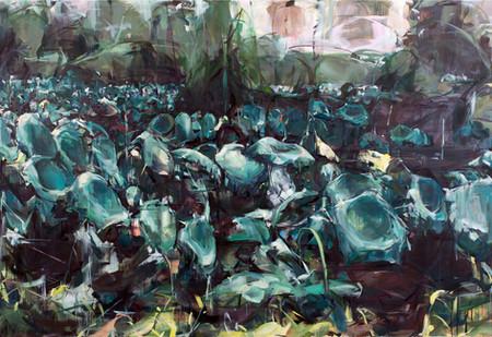 Wet Dreams, oil on canvas, 198x290cm, 2019