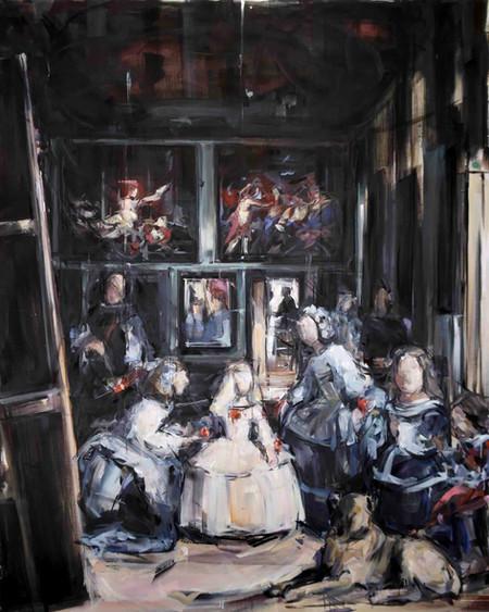 Stories of Hisroty, oil on linen, 162x130cm, 2018