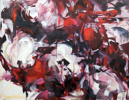 White Blood, oil on linen, 27x35cm, 2018
