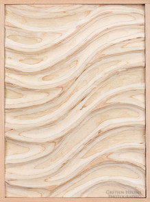 Blonde Wave Panel