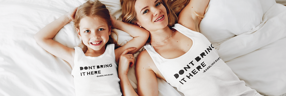 Don't Bring It Here Tank Top (Toddler)