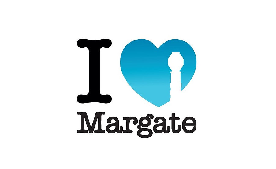I Heart Margate Lido Print