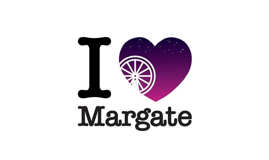 I Heart Margate Dreamland Print