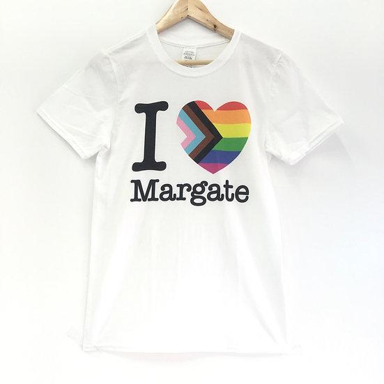 I Heart Margate Pride Tshirt
