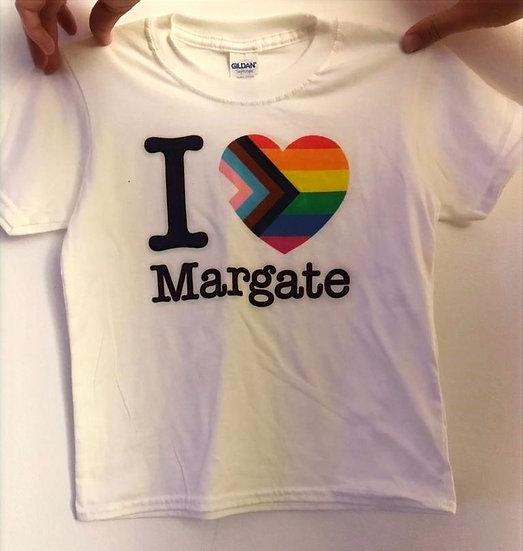 KIDS I Love Margate Pride T-shirt