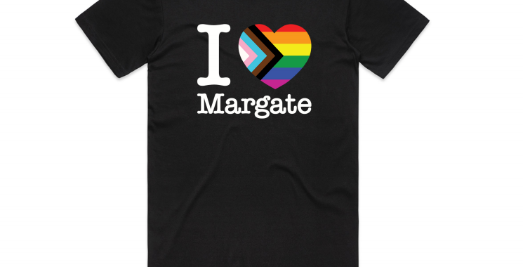 I love Margate Pride Tshirt