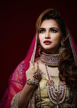 North Indian Bridal Makeover
