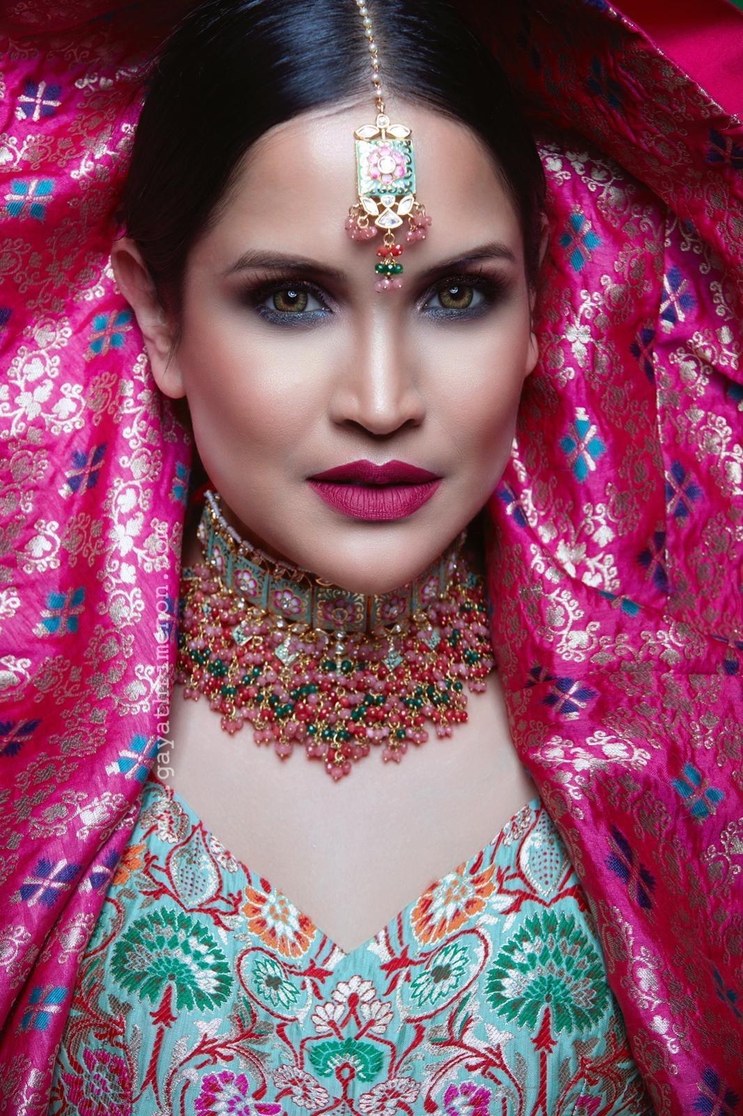 Amplio beauty Shoot for diwali