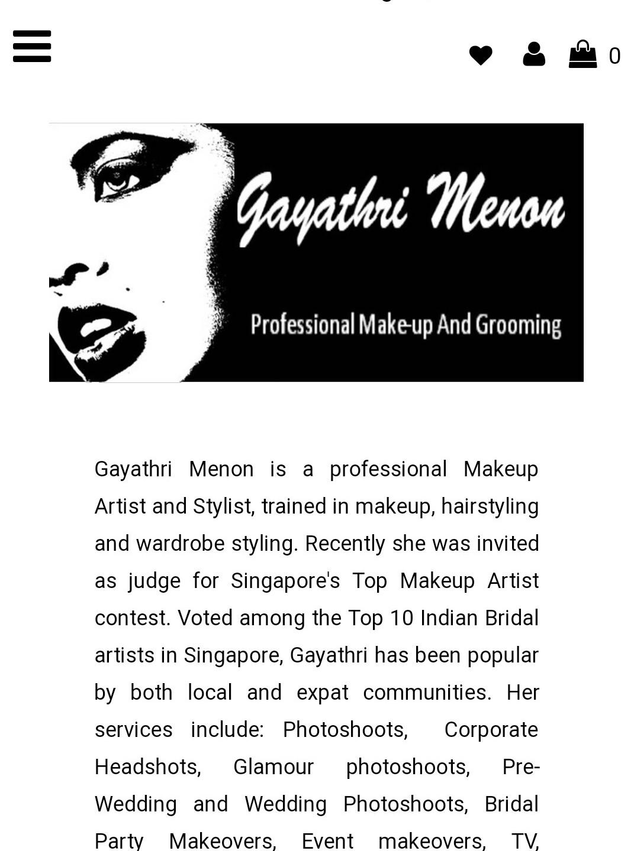 Gayathri Menon