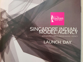 Official Makeup Artist for Singapore Indian Model Agency