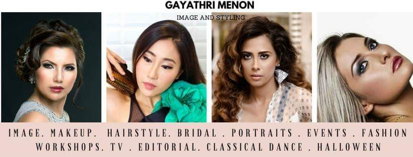 Gayathri Menon Makeup and Styling