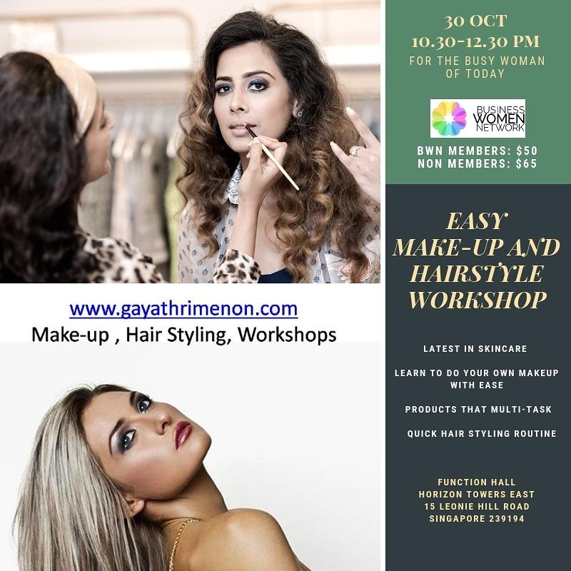 Gayathri Menon Makeup and Styling