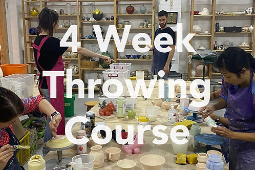 4 week Throwing Course | Mondays | 2nd - 23rd November