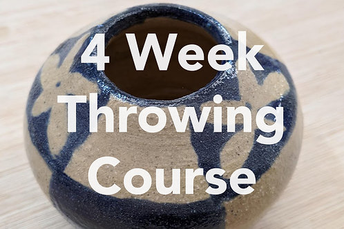 4 week Throwing Course | Mondays | 1st - 22nd February